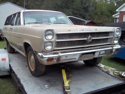 1966 FAIRLANE STATION WAGON hotrod for Sale in SALISBURY, NC | RacingJunk Classifieds