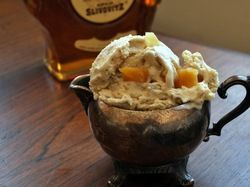 Scooped: Lemon, Honey, and Brandy (or Guggle Muggle) Ice Cream   Serious Eats : Recipes