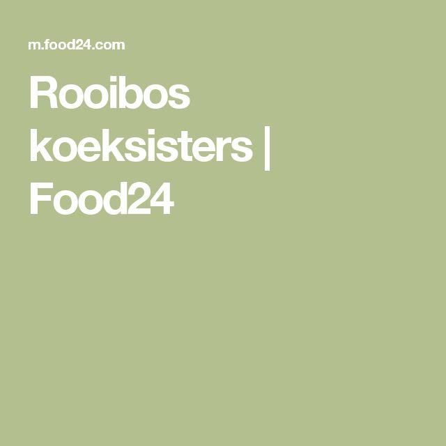 Rooibos koeksisters   Food24