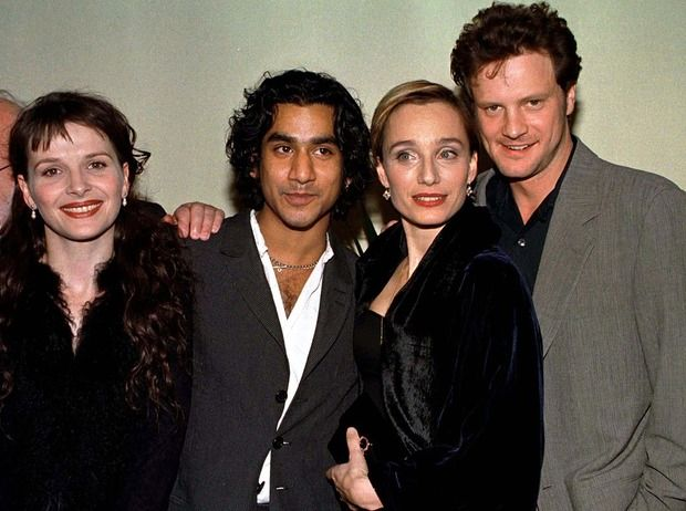 """The English Patient"" cast: Colin Firth, Juliette Binoche, Naveen Andrews and Kristin Scott Thomas"