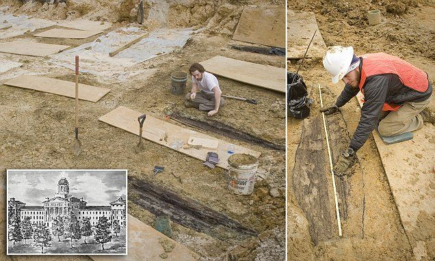 Thousands of bodies found buried beneath university campus #DailyMail