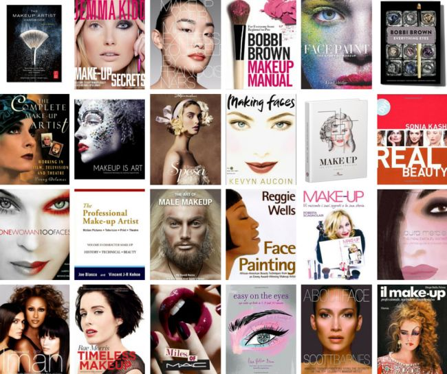 61 libri sul make up da avere se sei una make up artist #MUA #makeupartist
