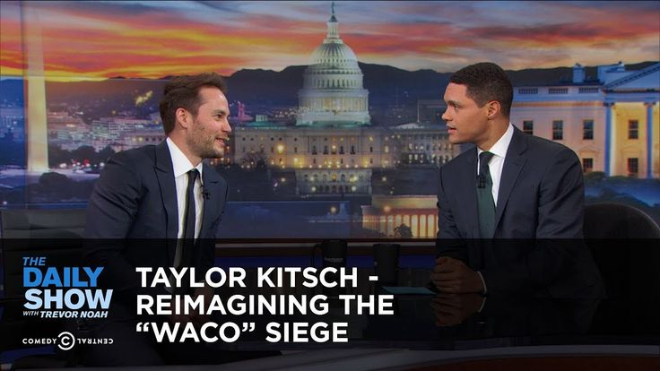 """YEP... Taylor Kitsch - Reimagining the """"Waco"""" Siege - Extended Interview: The D..."""