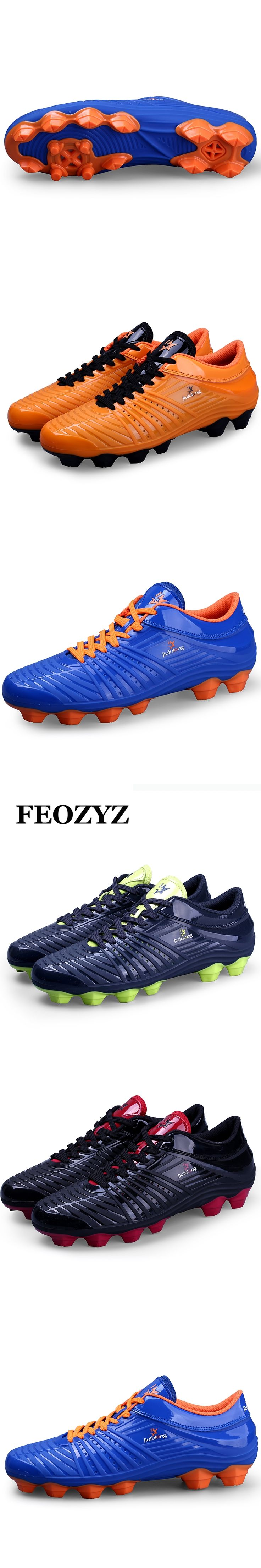 FEOZYZ AG Football Shoes Men Soccer Boots Training Football Boots Outdoor  Soccer Cleats Chuteiras Scarpe Calcio