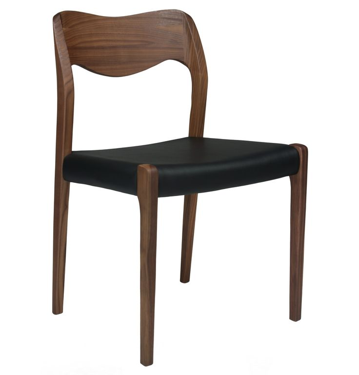 Replica Niels Moller Model No 71 Chair Walnut Leather