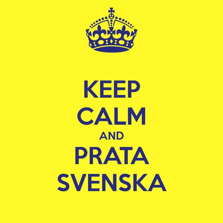 Jag gillar Svenska språket <3
