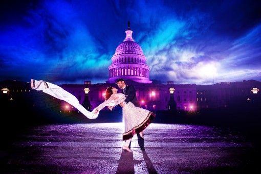 Washington DC Indian Engagement Session by Harsheet Patel Photography | Indian Wedding Site