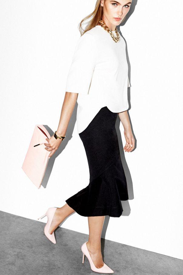 Madison Hope Headrick by Jennifer Livingston #womens #fashion #style  #business #suit. Black Pencil SkirtsBlack ...