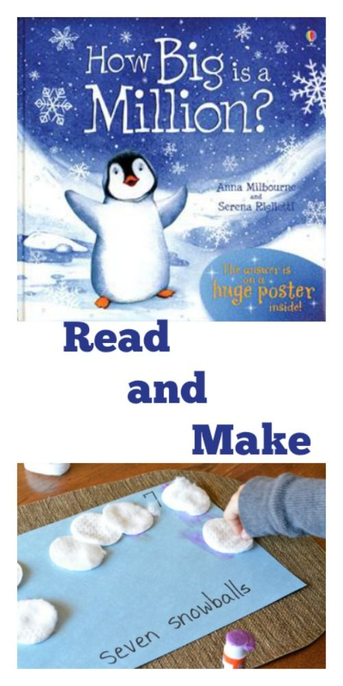 penguin number book to read and a number book to make with a cool ...