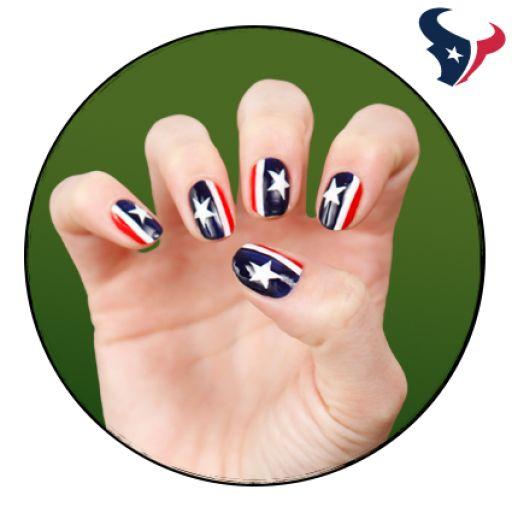NFL Fanicure - Houston Texans
