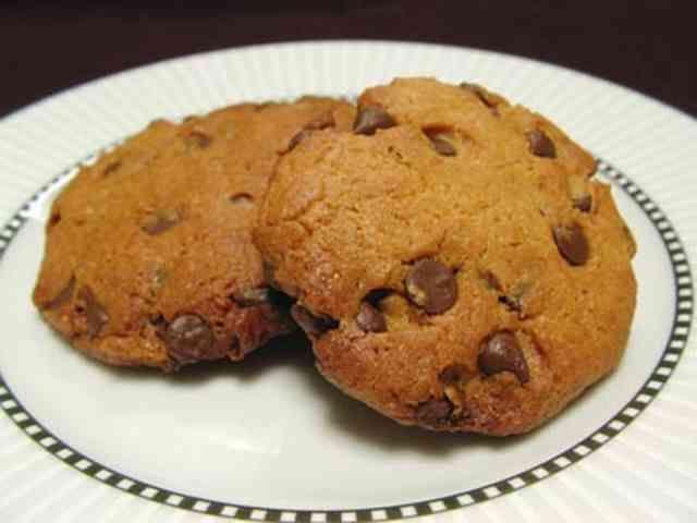 ピーナッツバター&チョコチップクッキーの画像