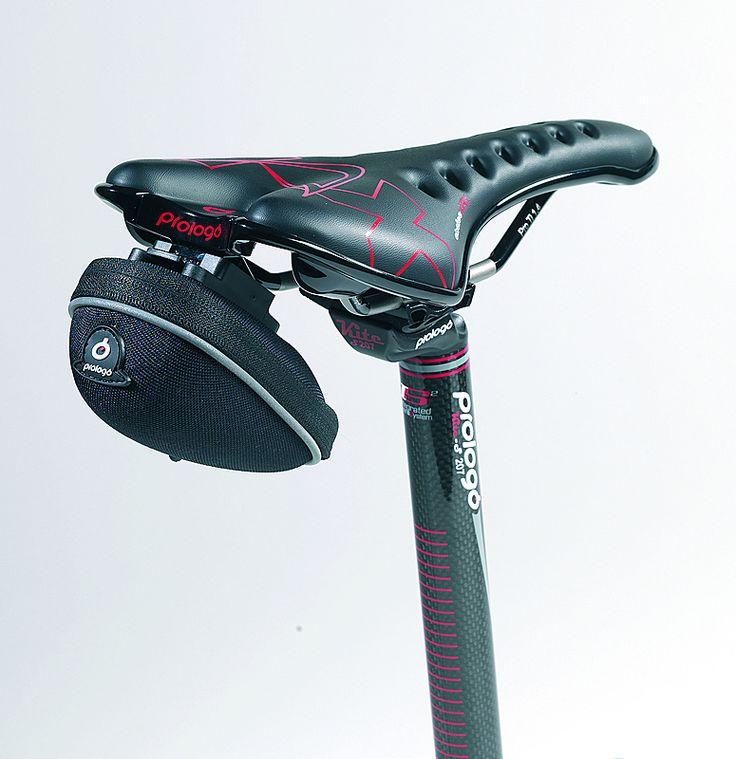 Prologo U-Bag Bike Saddle Bag - Medium 0.2L - Black