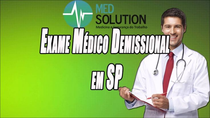 Exame Médico Demissional em SP   Med Solutions