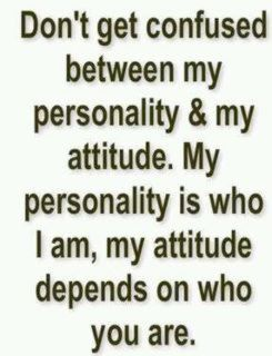 That's so true about me...