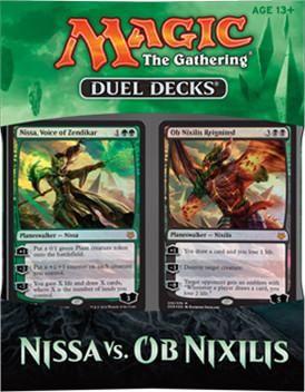 MTG: Nissa Vs Ob Nixlis | Duel Decks