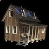 Small house plans We are very excited about DIY small house plans, tiny home floor plans and tiny house movement. We provide a wide range of wooden house blueprints to suit all of our customers' needs and preferences. Be it tiny houses for permanent residence, small cabins for weekend getaways, cottages in the middle of nowhere to escape city life or just small garden sheds or kids playhouses for you backyard – you can find all of that here. Our floor plans for small houses are easy to...
