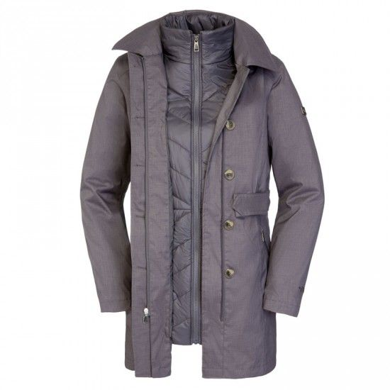 THE NORTH FACE Riverdale Trench Triclimate 3in1 női kabát