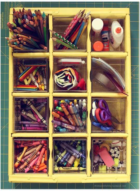 Diy Ikea Craft Storage