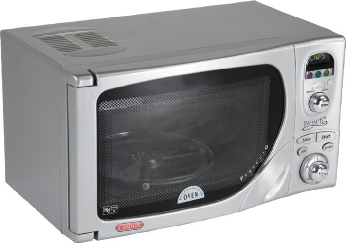 Kids Toy Microwave For Play Kitchens From One Step Ahead