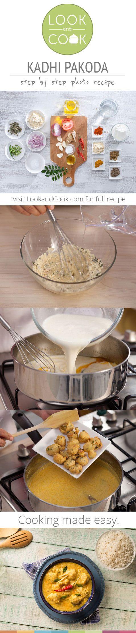 How to make kadhi pakora