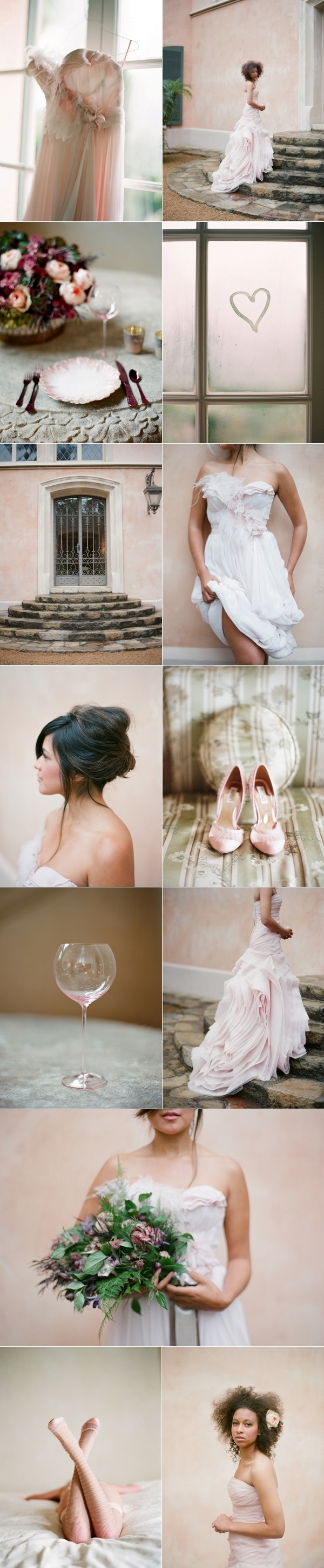 inspiration board by once wed.. just WOW!
