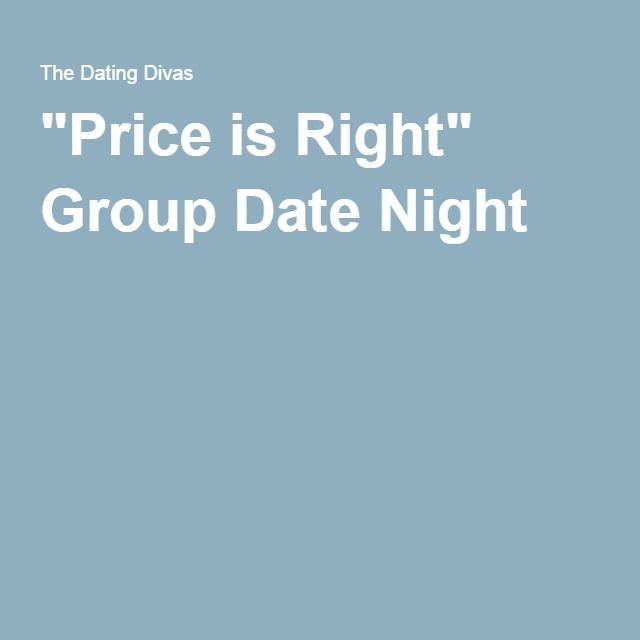 """Price is Right"" Group Date Night"