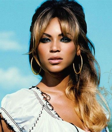 hair styles for 60 beyonce with a relaxed half up half look and 60 1232