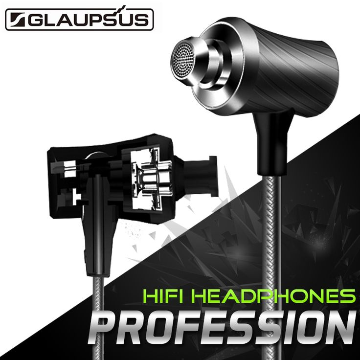 Original GLAUPSUS G03 3.5mm Jack In-ear Earphones with Microphone Song Switch…