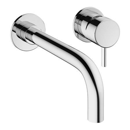 Crosswater Mike Pro Wall Mounted Basin Mixer & Spout   Tap Warehouse
