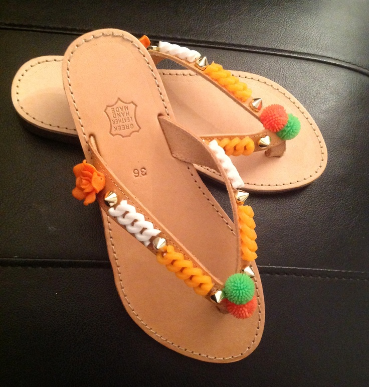 Handmade sandals summer 2013
