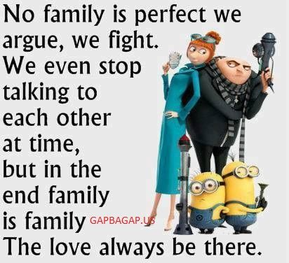 Well Said Quote About Family By The #Minions