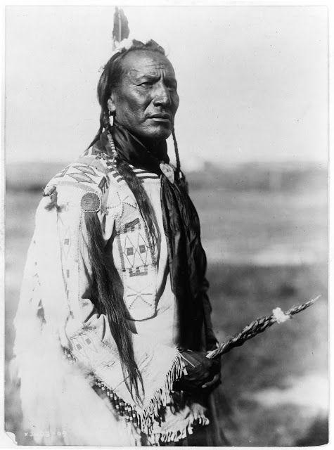 Blackfoot Indian Chief Big Spring . . . // Jefe indio Pies Negros Gran Primavera . . . @swami1951