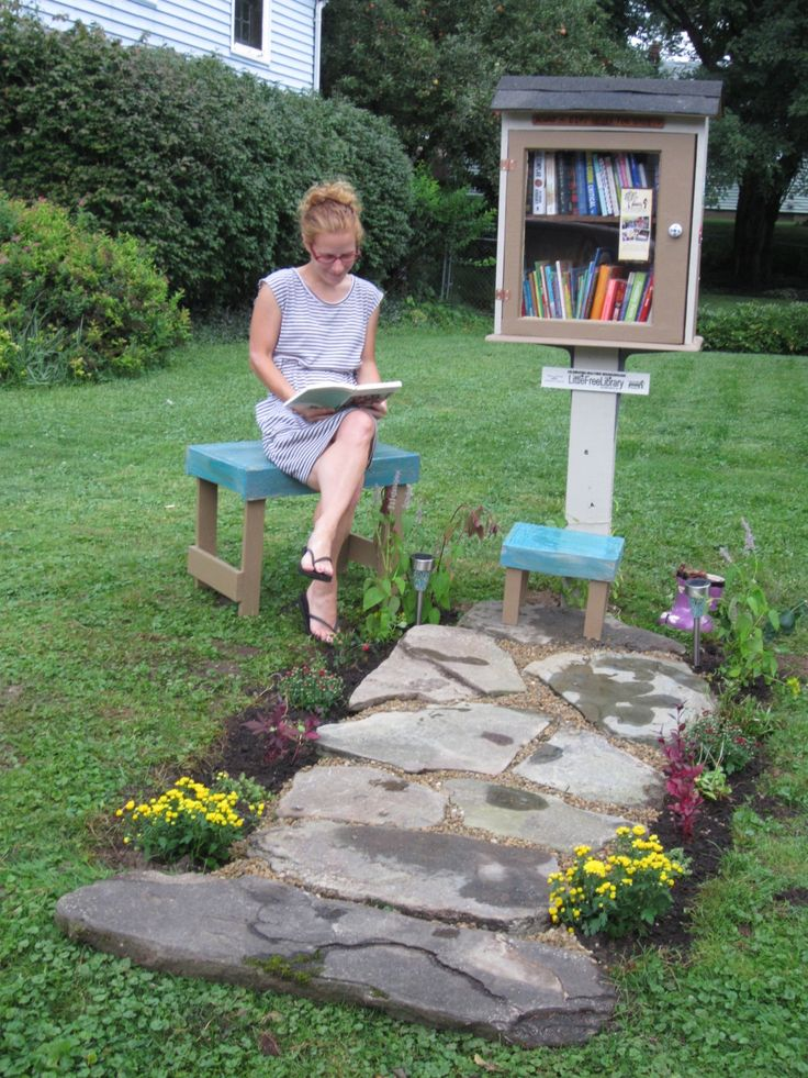 Casey Cline. Rochester, NY. This library is special because it took a community of people to create. The library is made out of all repurposed materials. My neighbor pitched in some materials. My father helped me set it up. The local college I work for donated the perennials for the garden. My neighborhood is loving it and enjoying it already! Total cost for the project $14. Overall benefits for my community- priceless!