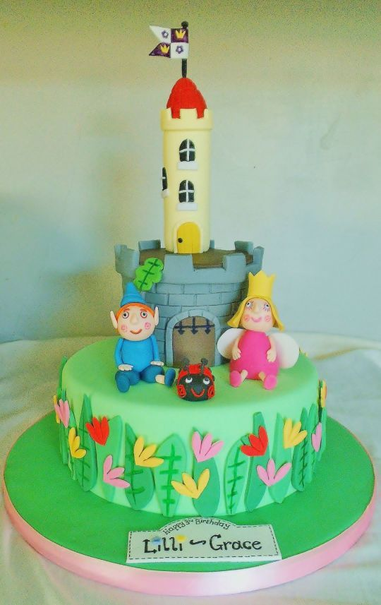 ben and holly little kingdom birthday cake - Google Search ...