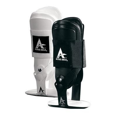 Cramer T2 Brace- One of the most popular braces for AT's everywhere- Exceptional level of protection with a quick-fit single strap.  Solid U-shape design relieves pressure from the ankle joint and provides superior protection. Bilateral hinge allows freedom of motion. Single strap adjusts for either high or low top shoes. Custom molded EVA padding for fit and comfort. Best for: Volleyball Basketball Football Baseball Softball