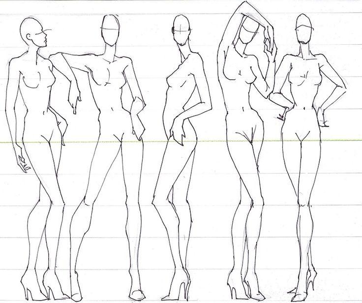 figurino moda pose - Cerca con Google