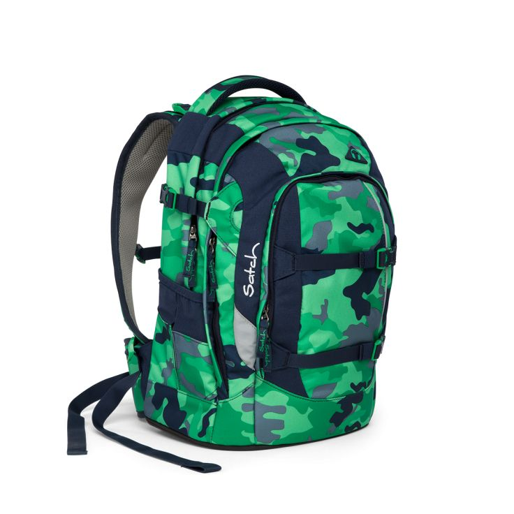 Green Camou | Schulrucksack | satch pack