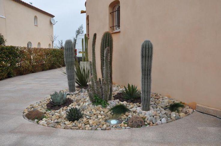 Jardin de cactus perpignan amenagement espace piscine pinterest photos et cactus - Jardin en pente photos perpignan ...