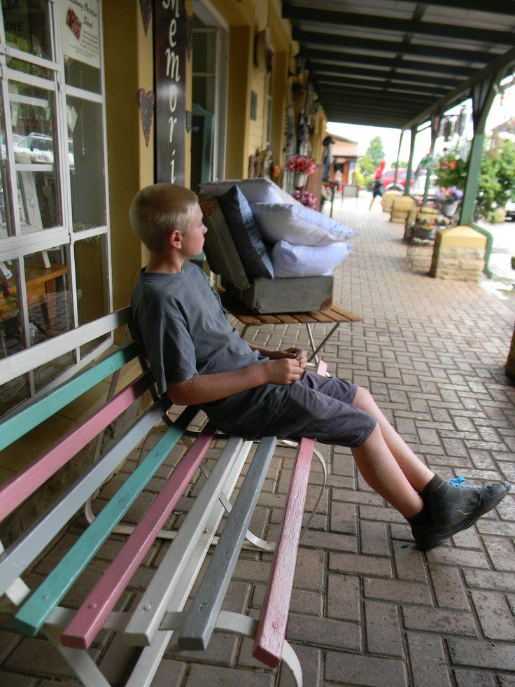 bench in clarens