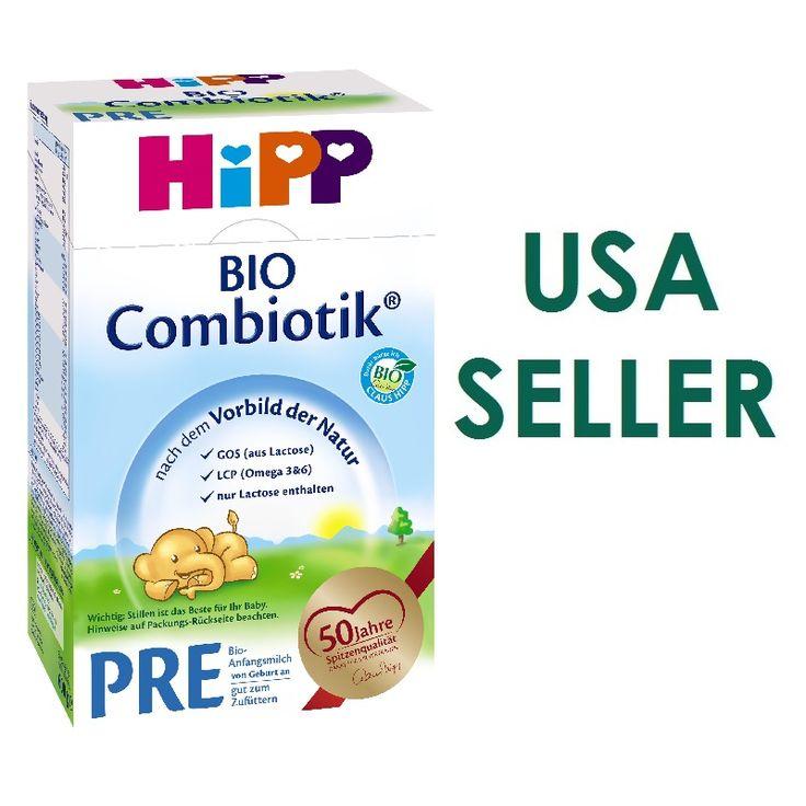 HiPP BIO Combiotik® Pre from Birth 600g (German Box And Formulation)