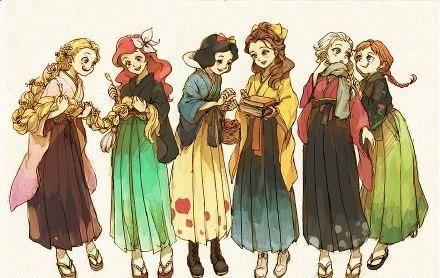 Japanese princesses                                                                                                                                                                                 More
