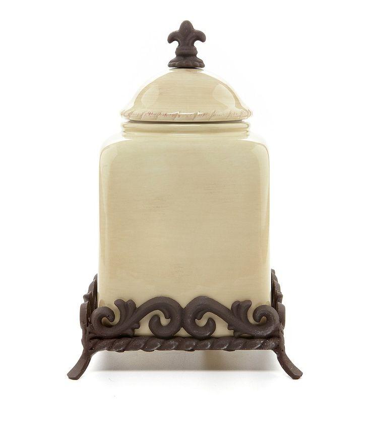 Dillards Furniture Brands: Artimino Tuscan Countryside Canister #Tuscan, #Artimino