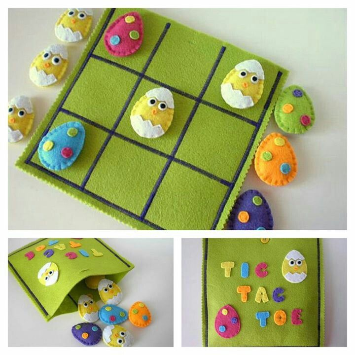 Easter - Eggs - Chicks - Tic Tac Toe - Game
