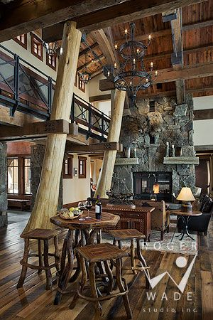 silver bracelet charms Great logs and fireplace   timber frame architectural stock photography  timber frame patio looking out to mountain view and setting sun  private residence  yellowstone club  montana  locati architects  design associates  schlauch bottcher construction