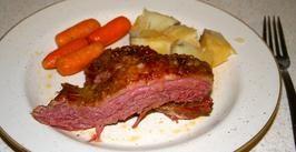 Baked Corned Beef Brisket