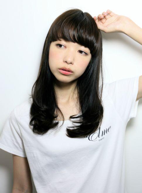 中学生 女子 髪型 内巻き