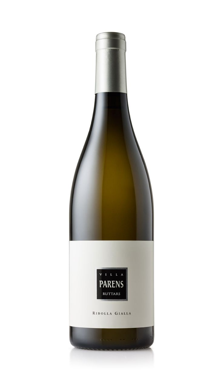 VILLA PARENS - Ruttars RIBOLLA GIALLA, the native white vine that better expresses the values of our hills; we dedicate it our experience and our know-how.