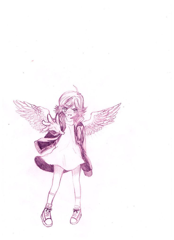 Angel- Maximum Ride by ~SpikyShadow123 on deviantART Angel is my favorite backstabber... if you want to call her that.
