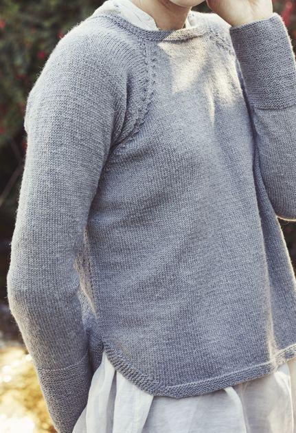 Stickad damtröja Novita Venla | Novita knits