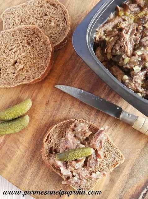 Pressé de Queue de Boeuf aux épices | Parmesan et Paprika